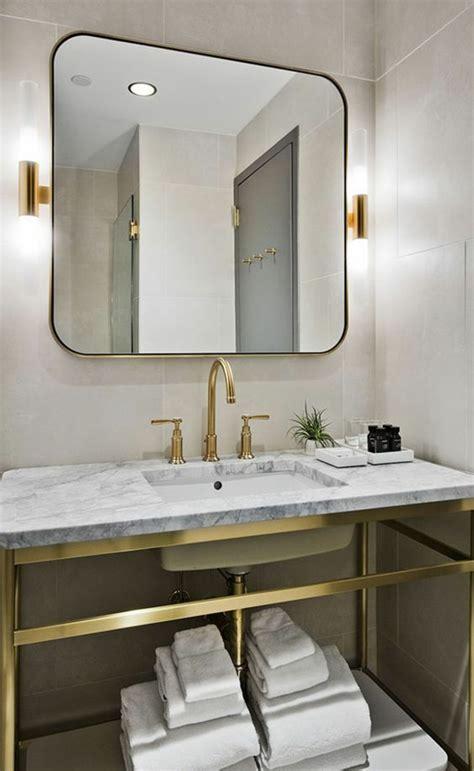 1001 id 233 es pour un miroir salle de bain lumineux les ambiances styl 233 es