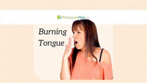 Burning Tongue - Menopause Now - YouTube