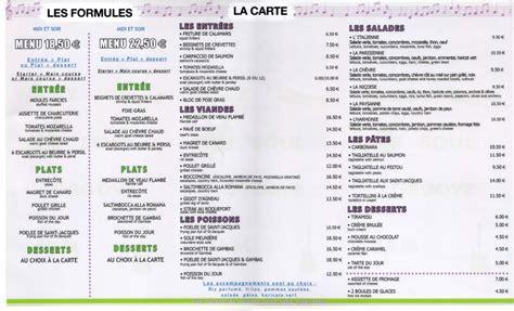 carte de dessert restaurant au restaurant notreblogdefle