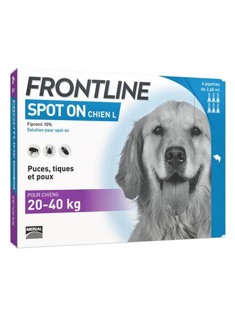 frontline spot  hund    kg  pipetten
