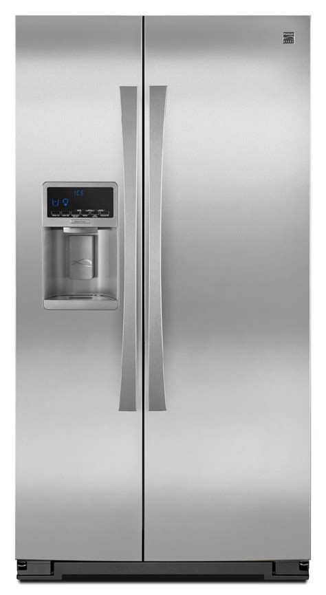 Counter Depth Refrigerator Dimensions Sears by Kenmore Elite 41163 24 5 Cu Ft Counter Depth Side By