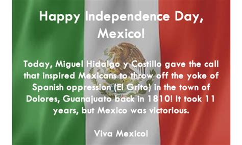 Happy Mexican Independence Day Celebrations Wishes Status ...