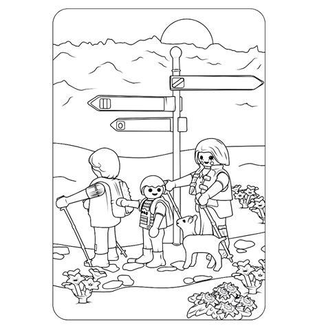 Wandelen Kleurplaat by Leuk Voor Playmobil Wandeltocht