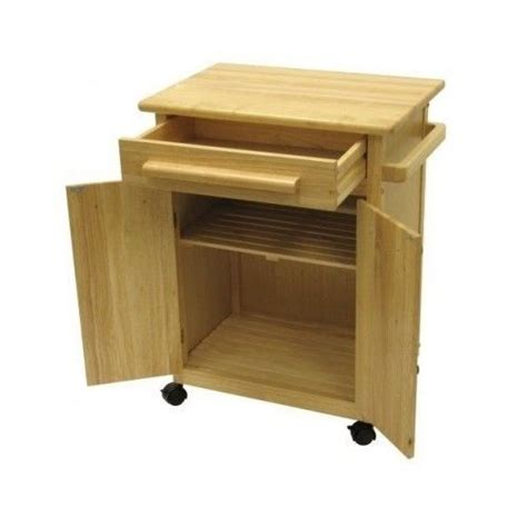 kitchen utility cart solid beechwood woodworking