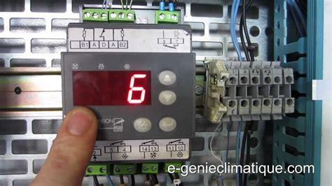 thermostat chambre froide froid83 régulateur mr4 fonctionnement et paramétrages