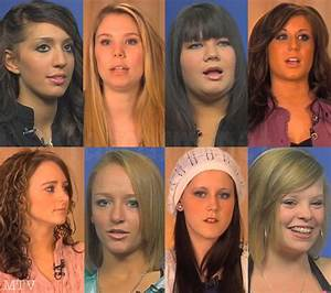 PHOTOS The stars of Teen Mom from 16 & Pregnant to now