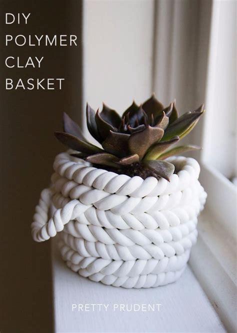 chic diy basket crafts