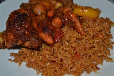 cuisine poulet recette du riz au gras jollof rice cuisine togolaise