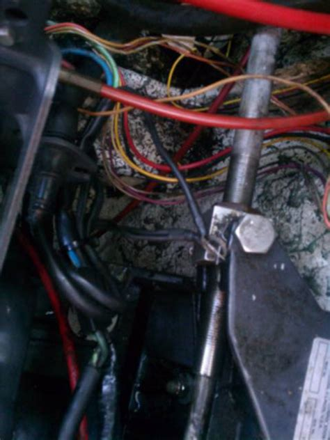 omc io wiring harness  hull