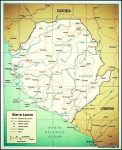 sierra leone map Sierra Leone Sierra Leone