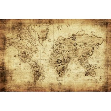 Toile Carte Du Monde Vintage by Tableau Design Carte Du Monde Vintage Home Photo Deco