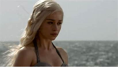 Emilia Clarke Gifs Platinum Blonde Thrones Daenerys