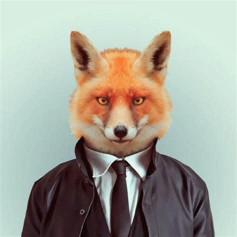 zorro animal face minimal corbata pets  people