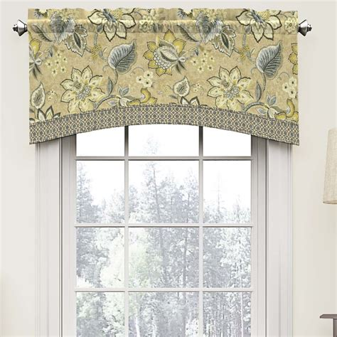 Bedroom Valances by Montego 52 Quot Arched Curtain Valance Guest Bedroom