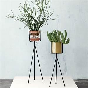 Cache Pot Plante : cache pot sur pied et support pour plante 19 id es d co pour vos v g taux ~ Teatrodelosmanantiales.com Idées de Décoration