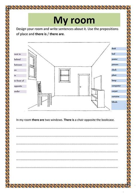 my room worksheet free esl printable worksheets made by