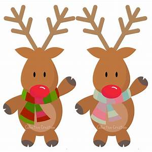 Christmas Reindeer Clipart Many Interesting Cliparts