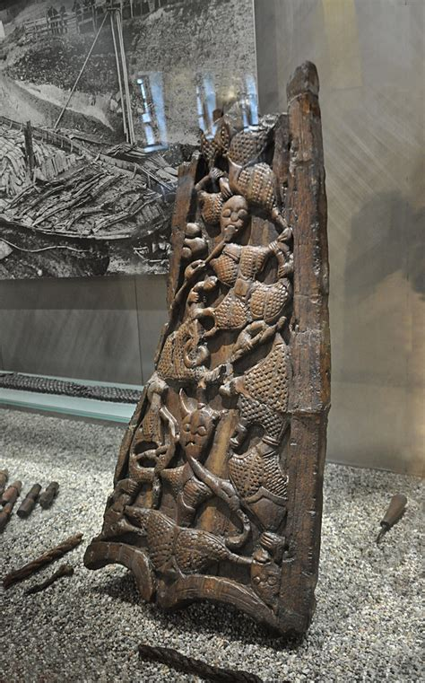 grave goods   oseberg ship burial norway en