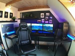 Gaming Zimmer Ideen : qktoszb workspace pinterest ~ Markanthonyermac.com Haus und Dekorationen