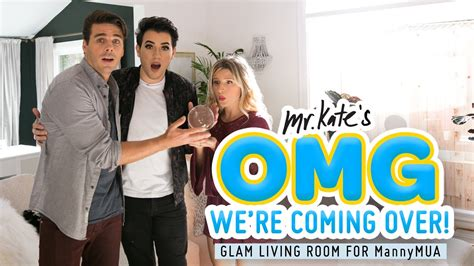 Mystical Glam Living Roomoffice Makeover For Manny Mua