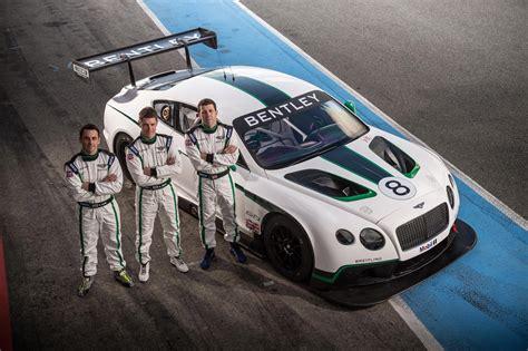 bentley names driver lineup   gt motorsport comeback