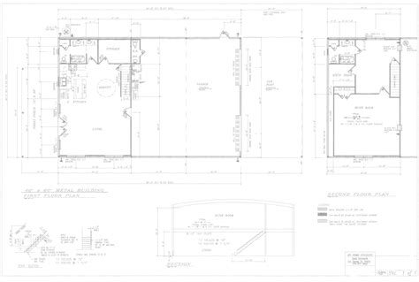 40x60 Metal Building Floor Plans by Ideas 40x60 Barndominium Floor Plans Design Ideas With