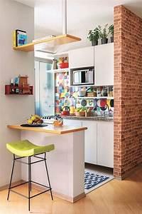 35, Perfect, Small, Apartment, Kitchen, Design, And, Decor, Ideas