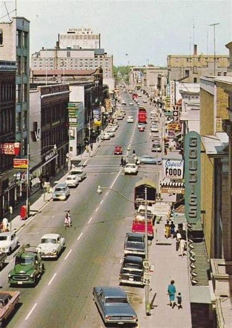 Stores Kitchener by King St Kitchener Goudies Dept Store On Right
