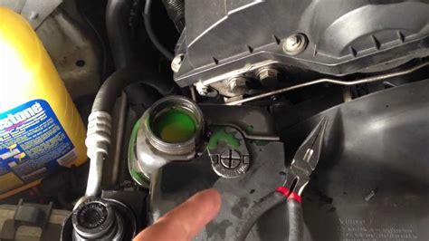remove air bubbles   radiatorengine block