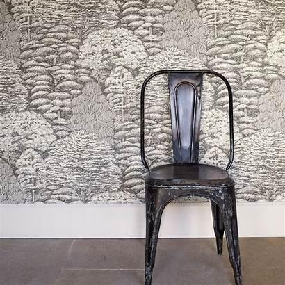 Sanderson Woodland Toile Walk Wallpapers Tapete Behang