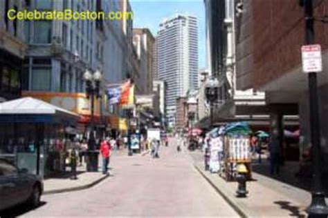 downtown crossing shopping district  boston