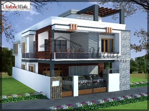 Front Elevation Designs For Duplex Houses In India