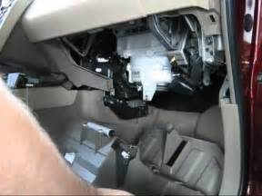 Cabin air filter replacement- Nissan Murano - YouTube