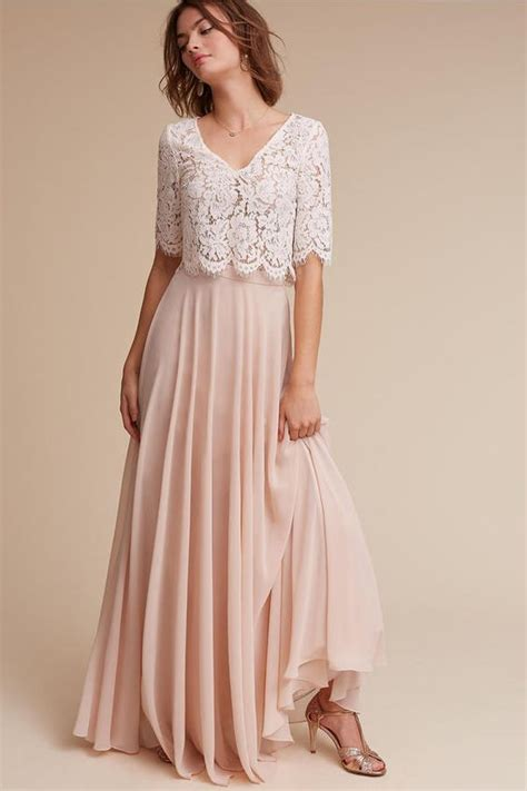 pleated midi skirt 38 chic and trendy bridesmaids separates ideas