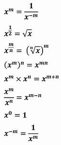 Gcse Maths Exam Questions On Indices