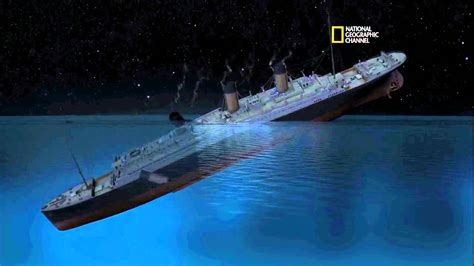what year did the titanic sink national geographic titanic youtube