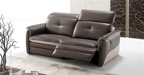 canapé cuir home salon amalia home cinéma relaxation électrique personnalisable