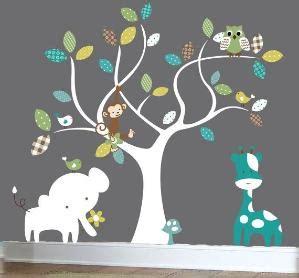 Camo Nursery Wall Decals