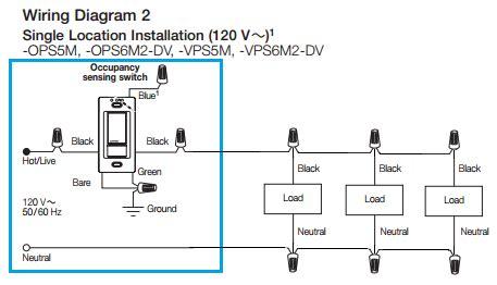 electrical     install  occupancy sensor