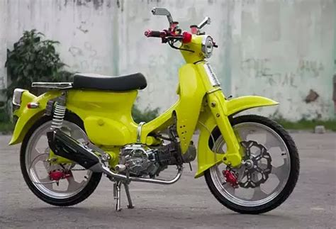 Modifikasi Honda 70 Simple by Kumpulan Foto Modifikasi Honda C70 Simplemeditation Work