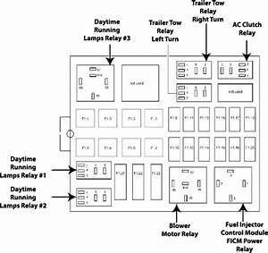 Diagram  2006 Ford F150 Owners Manual Fuse Diagram Full