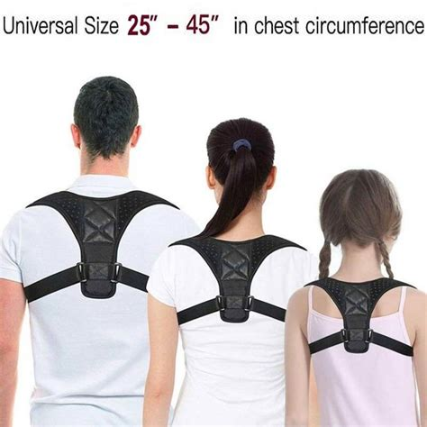Back Posture Corrector Neck Pain Support Clavicle Brace ...