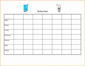 free printable chore chart templates authorization With free printable templates