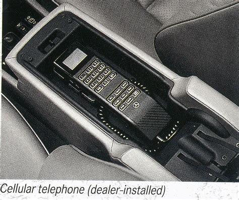 mercedes benz cellular phone