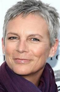 Coupe Courte Femme Cheveux Gris : tendances coiffurecoiffure cheveux gris femme les plus ~ Melissatoandfro.com Idées de Décoration