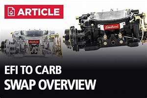 Efi To Carb Swap Guide