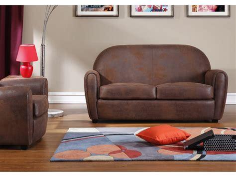 canapé en cuir vieilli canapé et fauteuil en microfibre vieilli victory ii