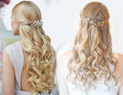 Half Down Hairstyle Diy Hairstyles For