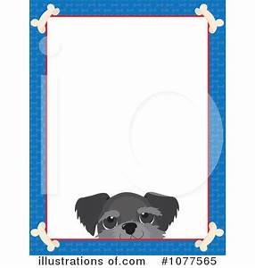 Dog Border Clip Art - Free Clip Art - Clipart Bay