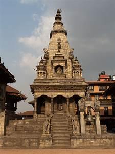 Bhaktapur  Nepal  U2013 Durbar Square And Taumadhi Tole
